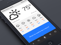 Assistant App - Weather Module