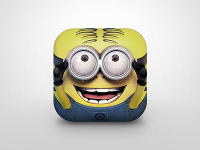 Minion Icon minion app icon ios