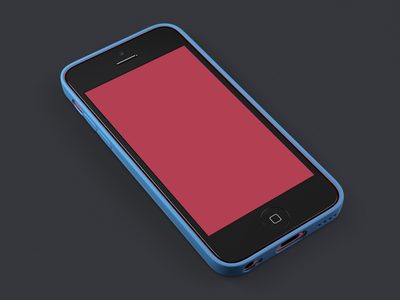 iPhone 5c + Case (Preview) case iphone5c red blue green ios white yellow iphone color