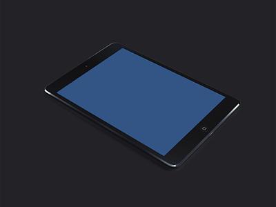 iPad + Mini Showcase Template ipad ios psd ios6 free ios7 gif ui8 mini freebie creativedash download