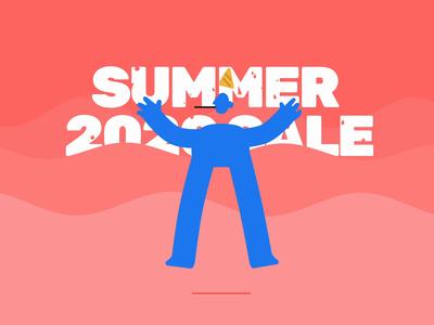Summer Sale sale ui design ui8 mockups icons illustrations ui kit wireframes ux ui