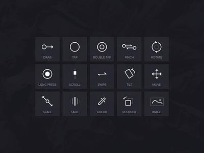 Pixate Icons icons creativedash pixate minimal sleek ui ux
