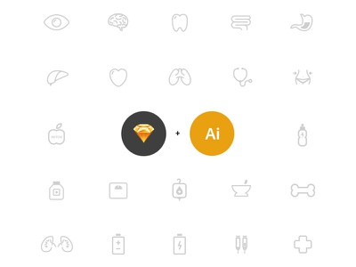 Health Icons free icons health medical freebies vector ui8