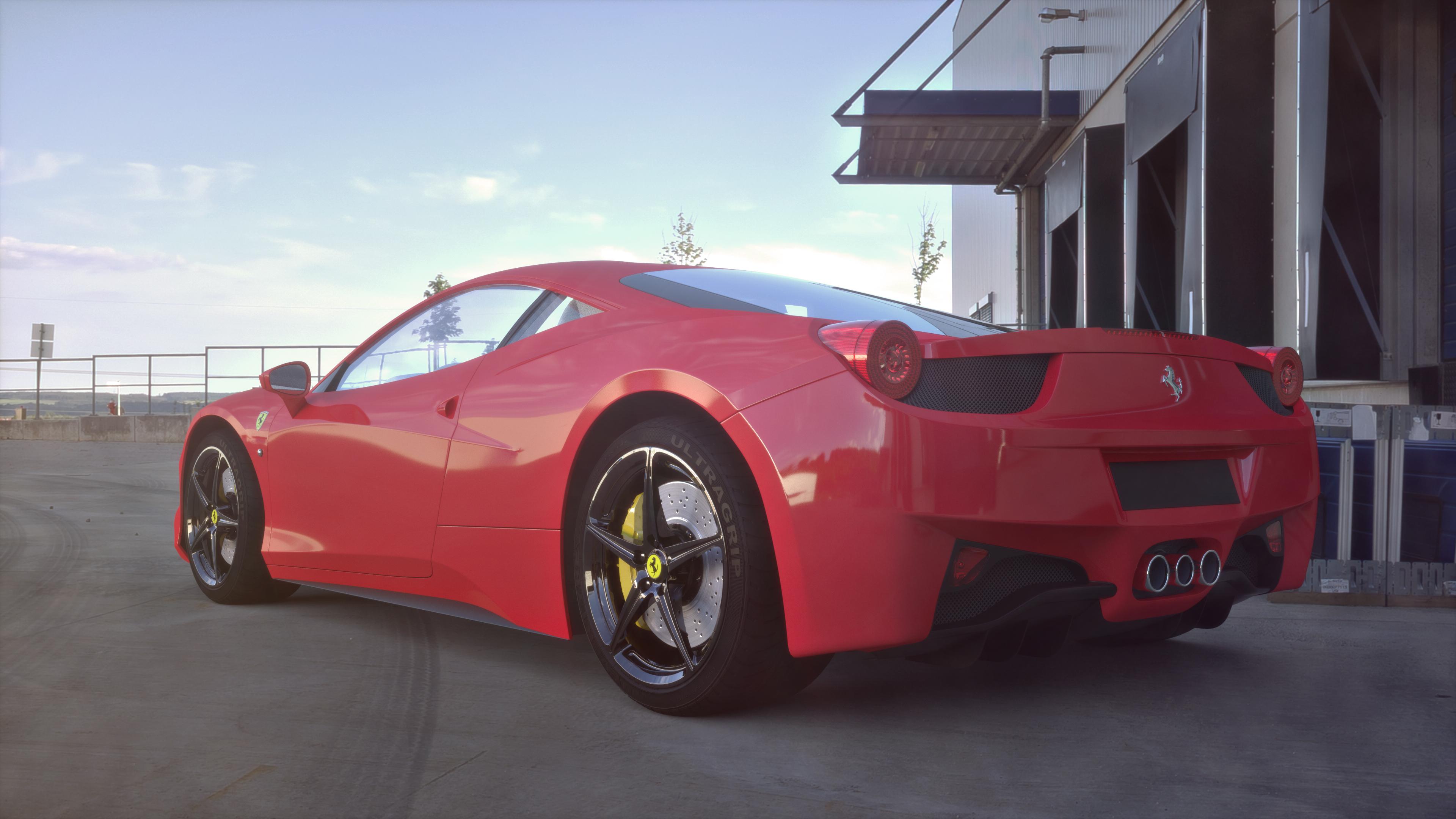 Ferrari 4k
