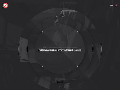 CD HERO creativedash dark studio design portfolio ui ux