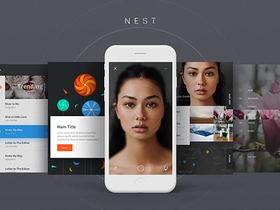 Nest UI Kit sketch uikit