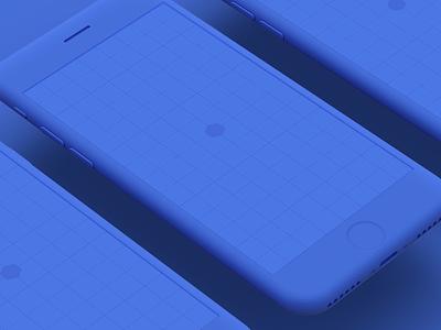 iPhone 8 Clay Mockups - Freebie psd freebie mockups apple iphone iphone 8