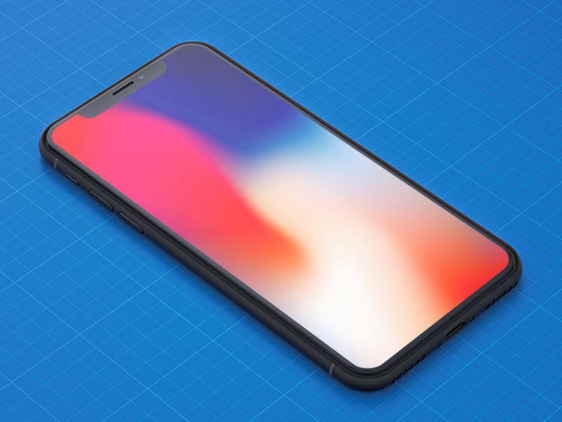 iPhone X Mockups (freebie)