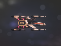 T-65 X-Wing Starfighter 3D