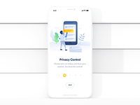 Start Screen: Privacy