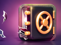 Vault App Icon Design (Final)