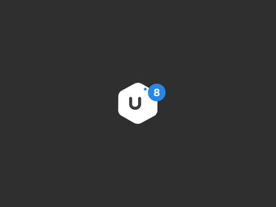 UI8 Logo Drop mp4 ui8 after effects animation motion