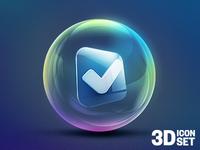 3D Icon Set #1