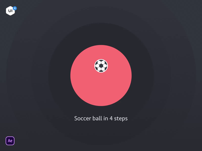Quick Tip: Bouncy Ball + Rotation freebie ui8 tip tutorial after effects soccer ball mp4 video motion animation motion design motion
