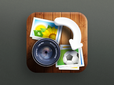 App Icon Design - GroopIt icon icons icon design graphics graphic design illustration sharing photo apps ipad artists best mobile iphone ios android app graphic 3d design designers developers illustrators editing camera images app icon designers app designers