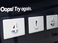 Oops 404