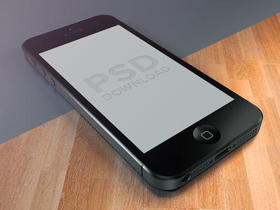 iPhone5 Template PSD iphone 5 template psd