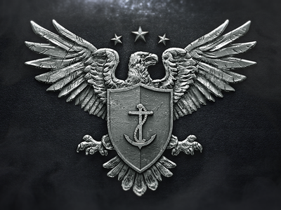 Logo Design - Defender logo branding illustration design graphic design business logo shield military eagle army logo designers anchor metal brand