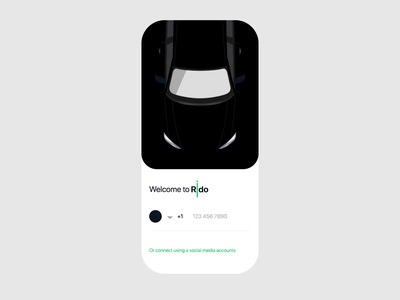 Car Sharing adobe xd uikit ui8 ios mobile interaction design ux ui