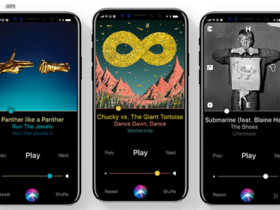 Music Player – Daily UI #009 clean design music player ui challenge ui daily daily ui daily ui 009 iphone ios iphone 8