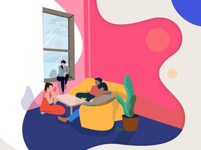 illustration group