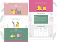 Pineaple Landing Page
