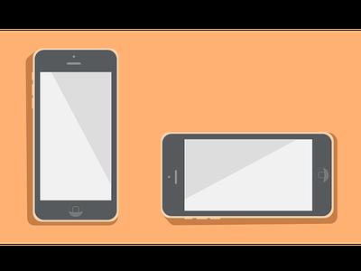 Iphone 5c mockup sketch