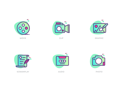 Vifodo Icons illustration icondesign multimedia icon tehran pixelstudio pixel design iran