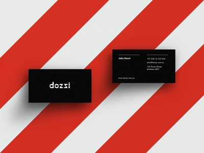 Dozzi logo & cards
