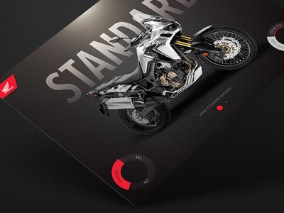 Honda Africa Twin - Case Study interactive app honda motorcycle bike mobile app
