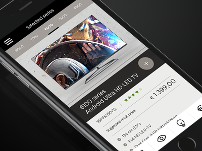 Philips Television - Case Study interactive web design responsive tv television philips