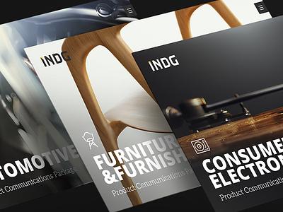 INDG - Digital Product Experiences - Case Study design responsive webdesign logo branding indg