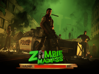 Slotgame - Zombie Madness slotgames games casino 3d