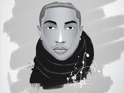 Pharrell Williams pharrell men character illustration