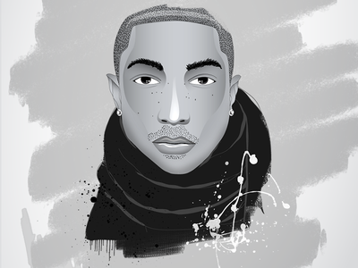 Pharrell Williams pharrell men character illustration