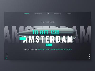 Delft Hyperloop ux ui typo design hyperloop web responsive black