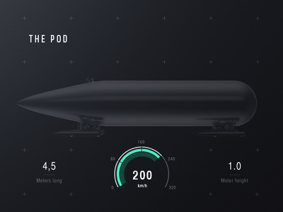 Delft Hyperloop icons ux ui typo design hyperloop web responsive black