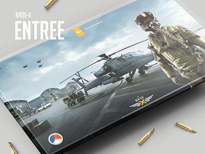 Base-X / Airforce 2.0 military web ux ui design airforce