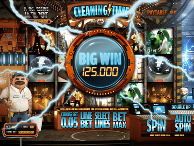 Cleaning Time - Slotgame 3d games slots online casino gambling casino