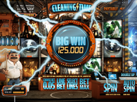 Cleaning Time - Slotgame