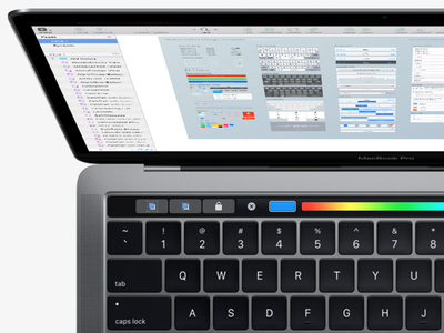 Sketch'S Touch Bar On The New Macbook Pro 2016 sketch led design ux ui 2016 bar touch apple macbook mac