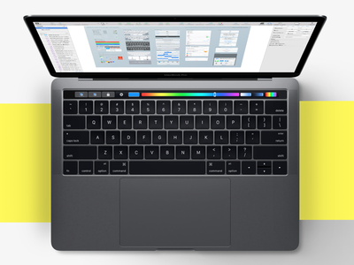 Sketch S  Touch Bar On The New  Macbook Pro 2016 sketch led design ux ui 2016 bar touch apple macbook mac