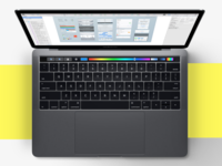 Sketch S  Touch Bar On The New  Macbook Pro 2016