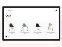 Normann Copenhagen   Website Redesign shop color clear minimal furniture ux ui design web