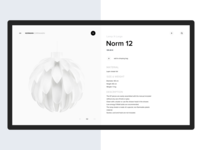 Normann Copenhagen   Website Redesign