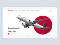 Eurobank Redesign poland bank site redesign minimalism landing modern design ui ux web