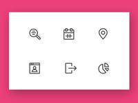 Staff Dashboard Icons