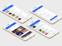 What's On Event App UI