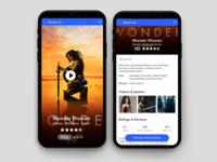 Movie Profile Page UI