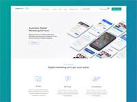 Digital Marketing Service Landing Page